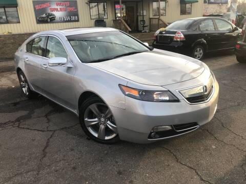 2012 Acura TL for sale at Some Auto Sales in Hammond IN