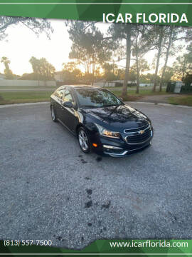 2015 Chevrolet Cruze for sale at ICar Florida in Lutz FL