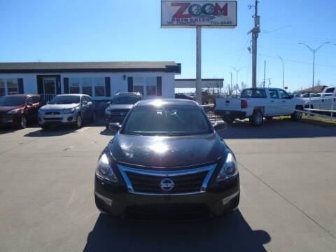 2013 Nissan Altima for sale at Zoom Auto Sales in Oklahoma City OK