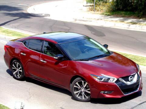 2017 Nissan Maxima for sale at AZGT LLC in Phoenix AZ