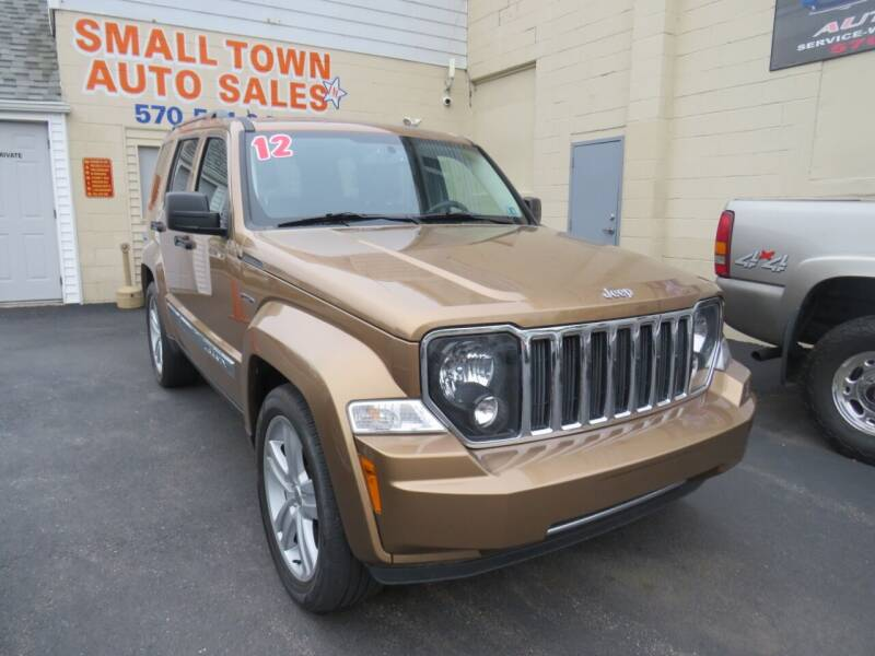 2012 Jeep Liberty for sale at Small Town Auto Sales in Hazleton PA