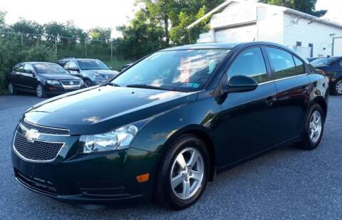 2014 Chevrolet Cruze for sale at Bik's Auto Sales in Camp Hill PA
