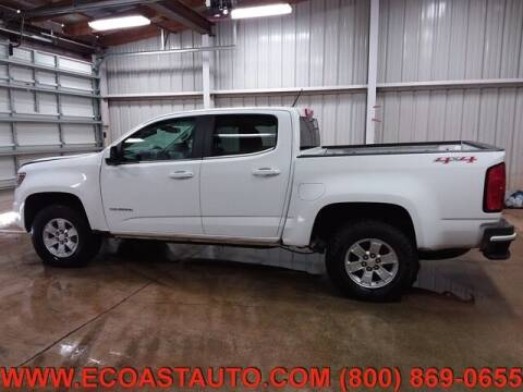 2018 Chevrolet Colorado for sale at East Coast Auto Source Inc. in Bedford VA