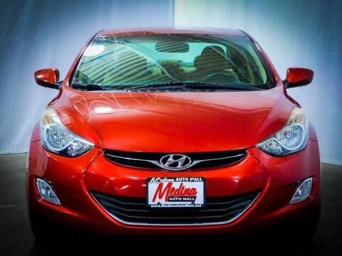 2013 Hyundai Elantra for sale at Cj king of car loans/JJ's Best Auto Sales in Troy MI