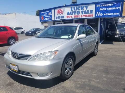 2005 Toyota Camry for sale at Lucky Auto Sale in Hayward CA