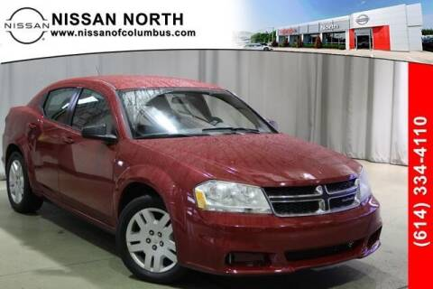 2013 Dodge Avenger for sale at Auto Center of Columbus in Columbus OH