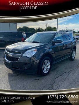 2015 Chevrolet Equinox for sale at Sapaugh Classic Joyride in Salem MO