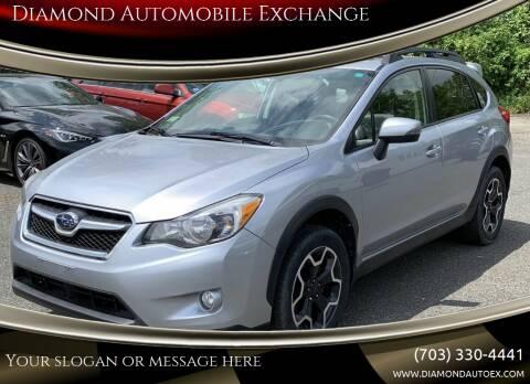 2015 Subaru XV Crosstrek for sale at Diamond Automobile Exchange in Woodbridge VA