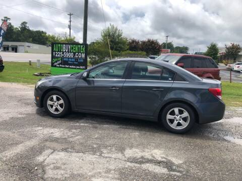 2013 Chevrolet Cruze for sale at AutoBuyCenter.com in Summerville SC
