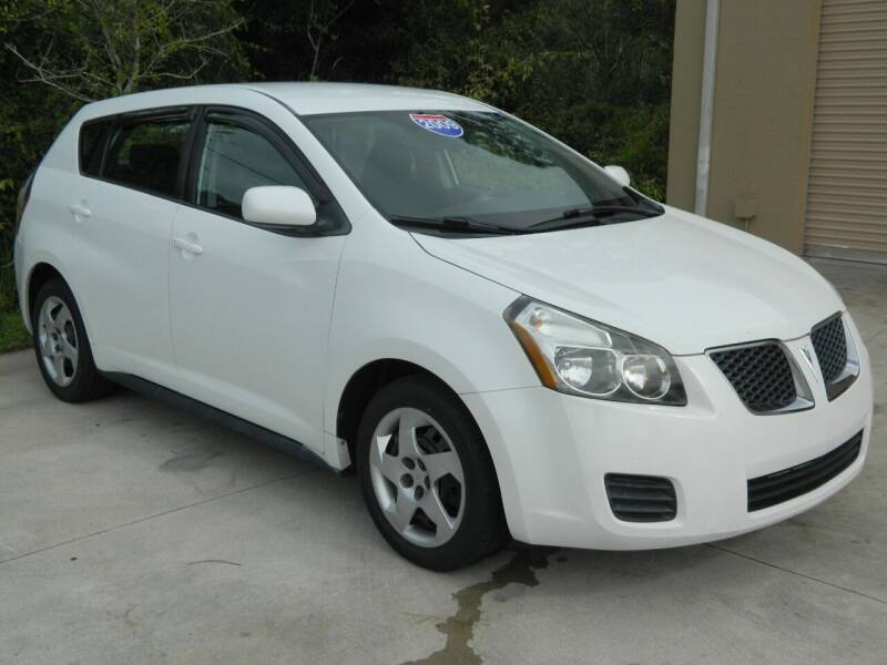 2009 Pontiac Vibe for sale at Jeff's Auto Sales & Service in Port Charlotte FL