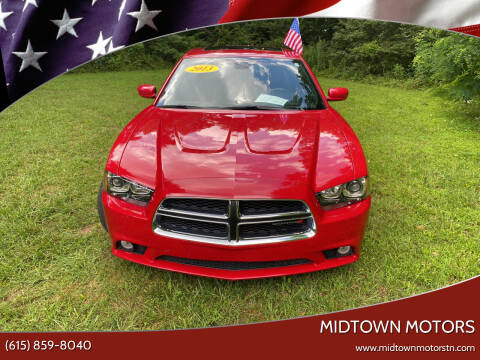 2013 Dodge Charger for sale at Midtown Motors in Greenbrier TN