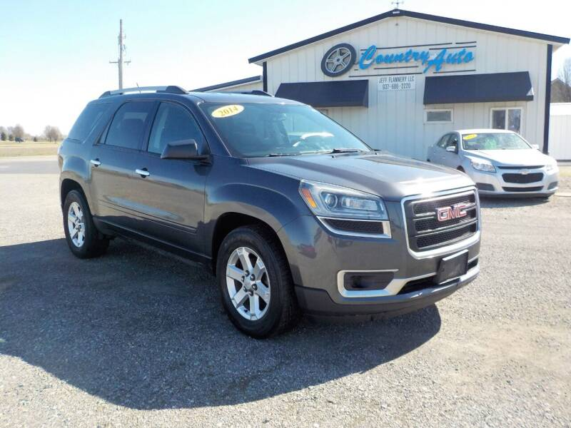 2014 GMC Acadia for sale at Country Auto in Huntsville OH