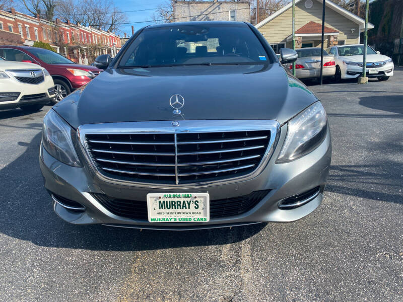 2016 Mercedes-Benz S-Class for sale at Murrays Used Cars in Baltimore MD