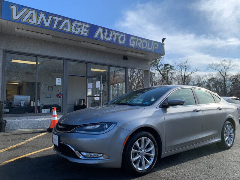 2015 Chrysler 200 for sale at Vantage Auto Group in Brick NJ