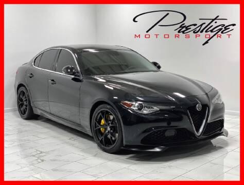 2017 Alfa Romeo Giulia for sale at Prestige Motorsport in Rancho Cordova CA