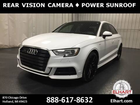2017 Audi A3 for sale at Elhart Automotive Campus in Holland MI