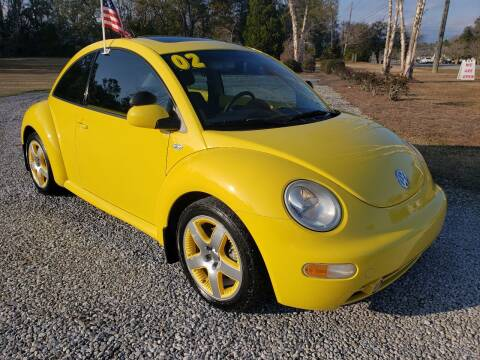 2002 Volkswagen New Beetle for sale at Darwin Harris Automotive in Fairhope AL