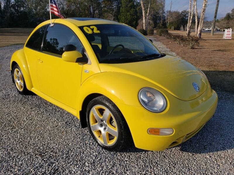 2002 Volkswagen New Beetle for sale at Darwin Harris Automotive in Fairhope AL