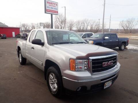 2010 GMC Sierra 1500 for sale at Marty's Auto Sales in Savage MN