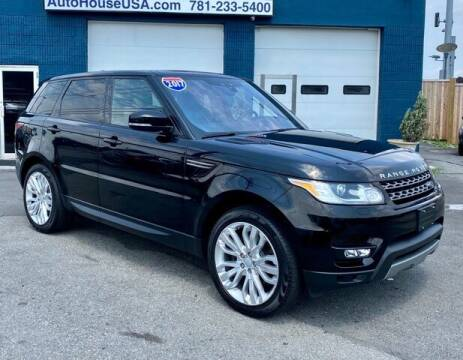2017 Land Rover Range Rover Sport for sale at Saugus Auto Mall in Saugus MA