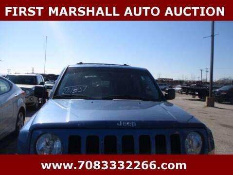 2007 Jeep Patriot for sale at First Marshall Auto Auction in Harvey IL
