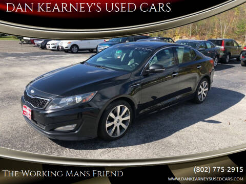2013 Kia Optima for sale at DAN KEARNEY'S USED CARS in Center Rutland VT