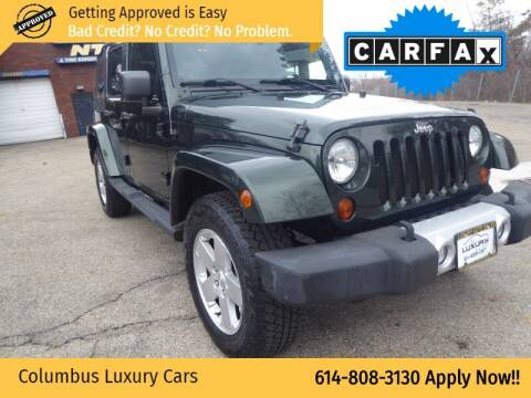 2011 Jeep Wrangler Unlimited for sale at Columbus Luxury Cars in Columbus OH