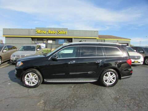 2014 Mercedes-Benz GL-Class for sale at MIRA AUTO SALES in Cincinnati OH