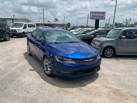 2015 Chrysler 200 for sale at Jamrock Auto Sales of Panama City in Panama City FL