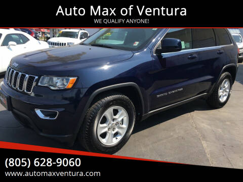 2017 Jeep Grand Cherokee for sale at Auto Max of Ventura in Ventura CA