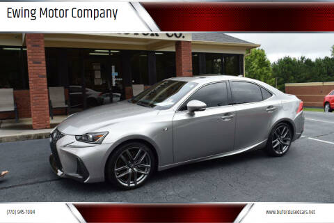 2018 Lexus IS 300 for sale at Ewing Motor Company in Buford GA
