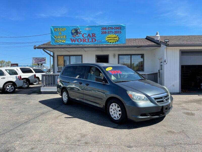 2005 Honda Odyssey for sale at CAR WORLD in Nampa ID