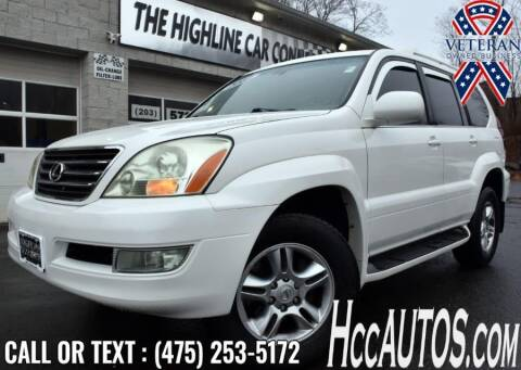 2003 Lexus GX 470 for sale at The Highline Car Connection in Waterbury CT