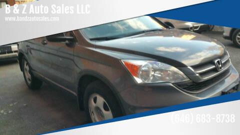 2011 Honda CR-V for sale at B & Z Auto Sales LLC in Delran NJ