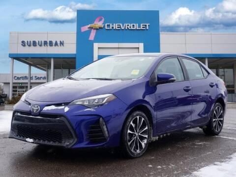 2018 Toyota Corolla for sale at Suburban Chevrolet of Ann Arbor in Ann Arbor MI