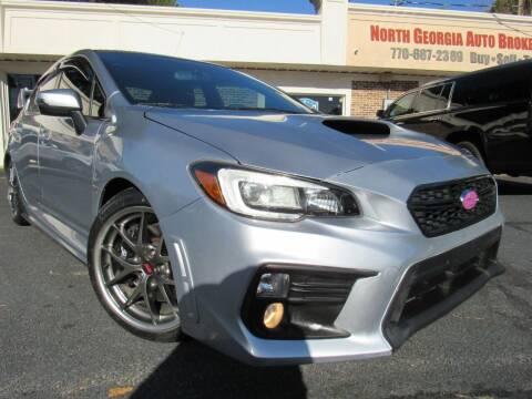 2016 Subaru WRX for sale at North Georgia Auto Brokers in Snellville GA