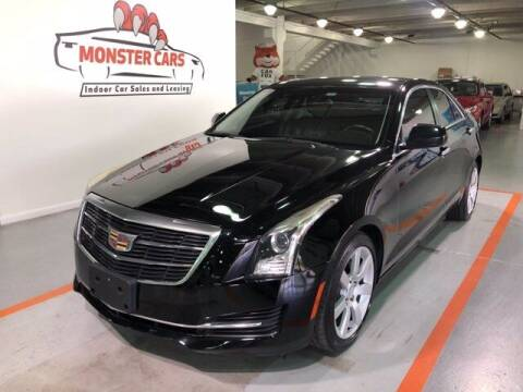 2015 Cadillac ATS for sale at Monster Cars in Pompano Beach FL