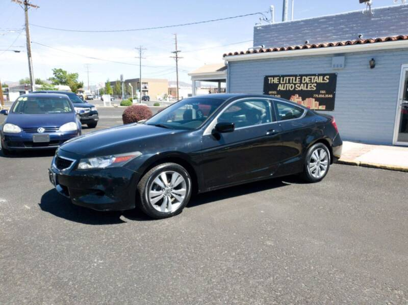 2008 Honda Accord for sale at The Little Details Auto Sales in Reno NV