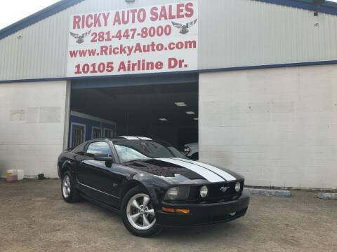 2007 Ford Mustang for sale at Ricky Auto Sales in Houston TX