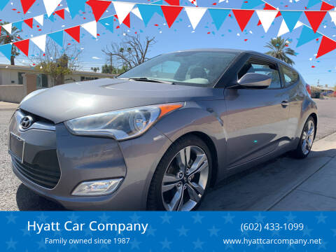 2012 Hyundai Veloster for sale at Hyatt Car Company in Phoenix AZ