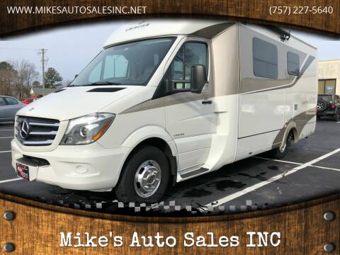 2016 Mercedes-Benz LEISURE TRAVEL for sale at Mike's Auto Sales INC in Chesapeake VA
