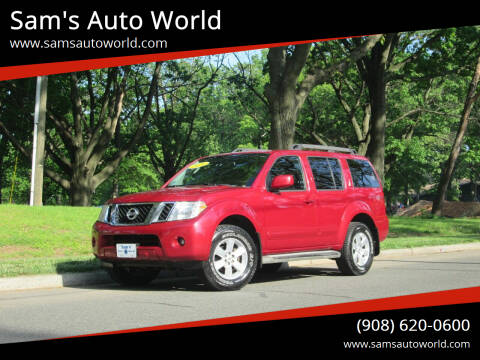 2010 Nissan Pathfinder for sale at Sam's Auto World in Roselle NJ