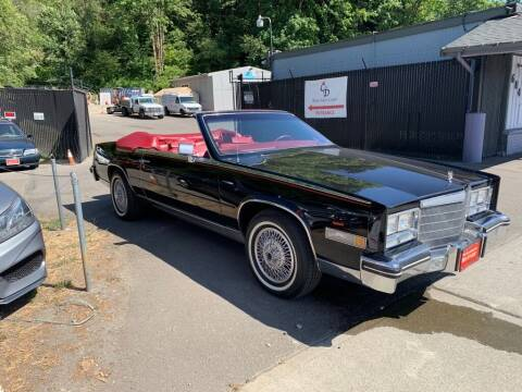 1985 Cadillac Eldorado for sale at C&D Auto Sales Center in Kent WA