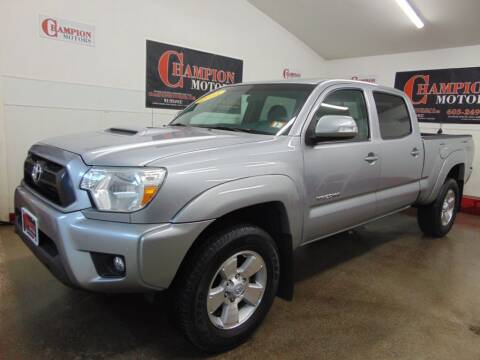 2015 Toyota Tacoma for sale at Champion Motors in Amherst NH