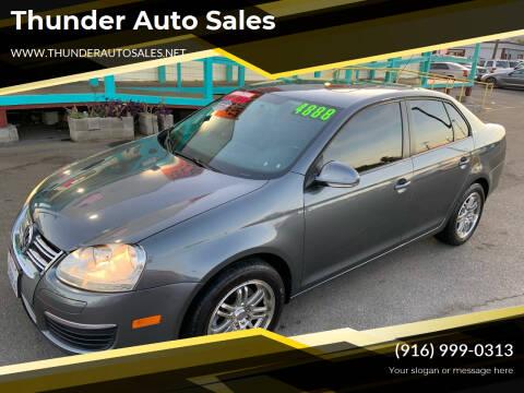 2010 Volkswagen Jetta for sale at Thunder Auto Sales in Sacramento CA