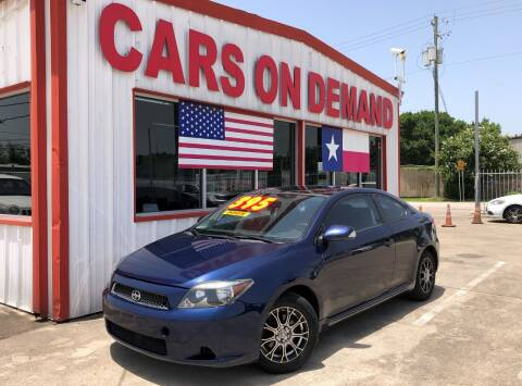 2005 Scion tC for sale at Cars On Demand 2 in Pasadena TX