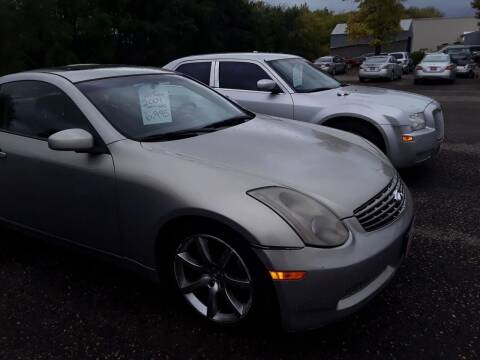2004 Infiniti G35 for sale at BARNES AUTO SALES in Mandan ND