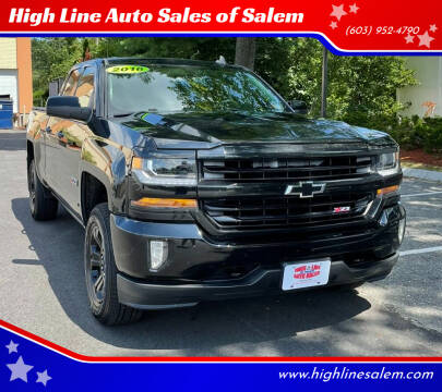 2016 Chevrolet Silverado 1500 for sale at High Line Auto Sales of Salem in Salem NH