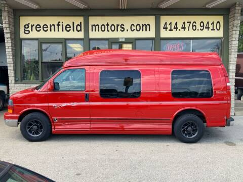2004 GMC Savana Cargo for sale at GREENFIELD MOTORS in Milwaukee WI