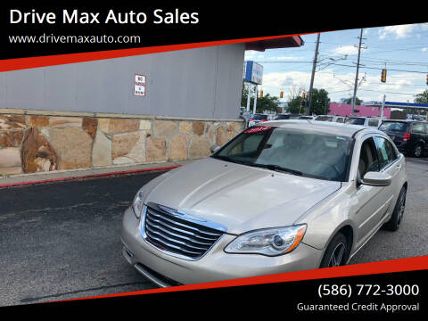 2014 Chrysler 200 for sale at Drive Max Auto Sales in Warren MI